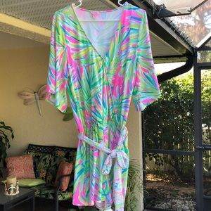 Lilly Pulitzer Tropical Storm Madilyn Romper
